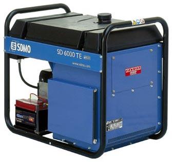 groupe electrogene triphase sdmo diesel 6500 va sd 6000 te 2. Black Bedroom Furniture Sets. Home Design Ideas
