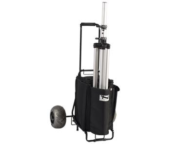 caddie trolley valise sur roulettes a poignee telescopique pour anchor explorer pro. Black Bedroom Furniture Sets. Home Design Ideas